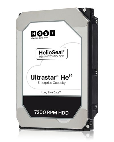 WD Ultrastar He12 - 3.5 - 12000 GB - 7200 RPM