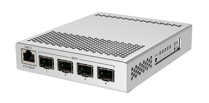 Mikrotik CRS305-1G-4S+IN network switch Managed Gigabit Ethernet (10/100/1000) Power over Ethernet (PoE) White
