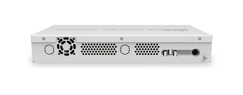 Mikrotik CRS326-24G-2S+IN network switch Managed Gigabit Ethernet (10/100/1000) Power over Ethernet (PoE) White